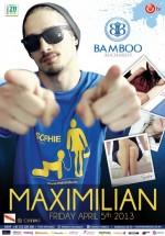 Concert Maximilian în Club Bamboo din Bucureşti