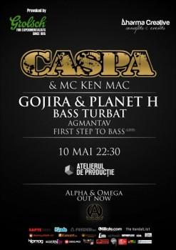 Caspa & MC Ken Mac în Atelierul de Producţie din Bucureşti