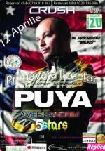 Concert Puya în Club Crush din Constanţa