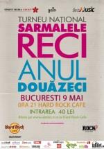 Concert aniversar Sarmalele Reci în Hard Rock Cafe din Bucureşti (CONCURS)