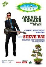 Concert Steve Vai la Arenele Romane din Bucureşti