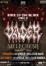 Concert Vader & Melechesh la Timişoara şi Bucureşti