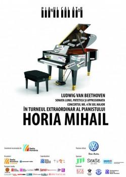 Turneu Horia Mihail – Pianul Călător 2013