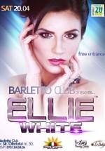 Concert Ellie White în Barletto Club din Bucureşti