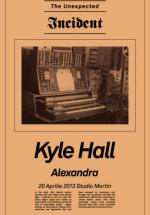 Kyle Hall în Studio Martin din Bucureşti