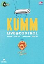 Concert KUMM în Control Club din Bucureşti