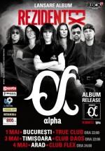 Concerte Rezident EX în Bucureşti, Timişoara şi Arad