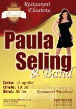 Concert Paula Seling & Band în Restaurant Elisabeta din Bucureşti