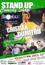 Stand-Up Comedy în MoonLight din Bucureşti