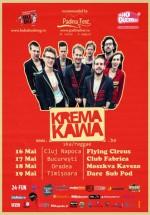 Turneu Krema Kawa în România