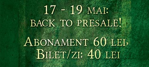 "Promoţie ""Back to Presale"" pentru Rockstadt Extreme Fest 2013"