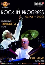 Rock in Progress în Hard Rock Cafe din Bucureşti