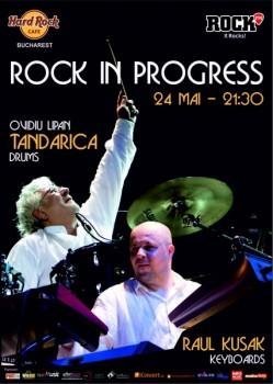 Rock in Progress în Hard Rock Cafe din Bucureşti