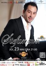 Concert Ştefan Stan în Hard Rock Cafe din Bucureşti