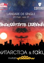 Lansare single Antarctica feat. raku în Control Club din Bucureşti