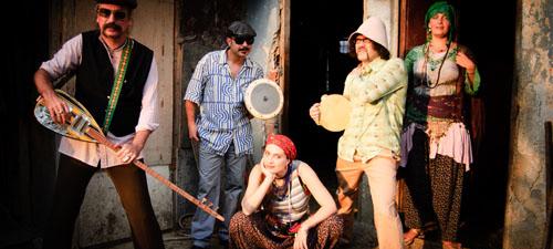 Baba Zula şi Nuevo Tango Quintet feat. Marili Machado la festivalul PLAI 2013