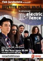 Concert Electric Fence în Club Şurubelniţa din Bucureşti