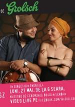Concert Luiza Zan & Jimmy Cserkesz la GuerriLIVE Acoustic Session în Energiea din Bucureşti