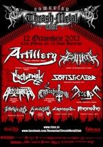 Romanian Thrash Metal Fest 2013 în Club Fabrica din Bucureşti
