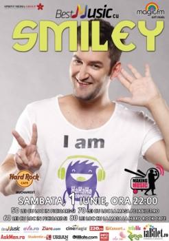 Concert Smiley & Band în Hard Rock Cafe din Bucureşti (CONCURS)