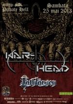 Concert War-Head în Private Hell Club din Bucureşti
