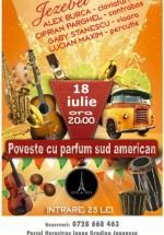 Concert Jezebel – poveste cu parfum sud american în Tête-à-Tête din Bucureşti
