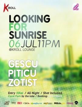 Gescu, Piticu şi Zotist în Kroll Lounge din Bucureşti