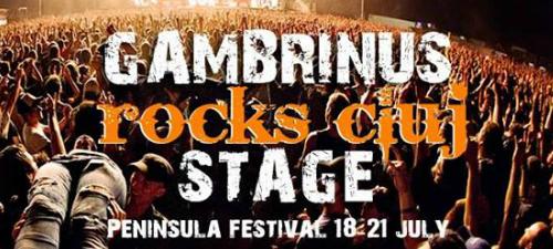 Gambrinus Rocks Cluj, o nouă scenă la Peninsula 2013. Vezi artiştii confirmaţi!