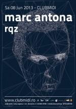 Marc Antona în Club Midi din Cluj-Napoca