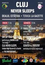 Cluj Never Sleeps la Cetăţuie