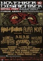 November to Dismember Metal Fest în Fusion Arena din Bucureşti