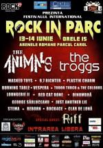 Festivalul Rock în Parc 2013 la Arenele Romane din Bucureşti