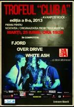Concerte Fjord, OverDrive şi White Ash în Club A din Bucureşti