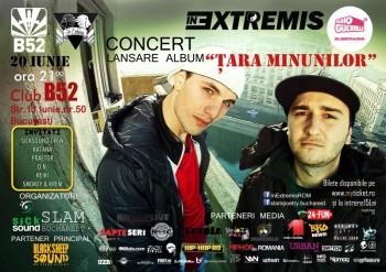 Concert şi lansare album In Extremis în Club B52 din Bucureşti