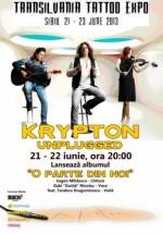 Concerte Krypton Unplugged la Transilvania Tatto Expo din Sibiu