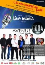 Concert Avenue în Goha Studio din Braşov