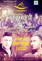 John Trend şi DJ Elles la Ponton Casa Baraj din Crivaia