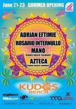 Kudos Beach Summer Opening 2013