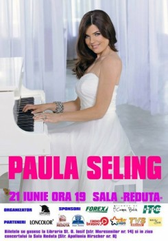 Concert Paula Seling la Centrul Cultural Reduta din Braşov