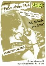Concert Petra Acker Duo în Journey Pub din Bucureşti