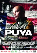 Concert Puya în Goha Studio din Braşov