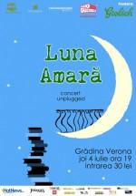 Concert unplugged Luna Amară la Grădina Verona-Cărtureşti din Bucureşti