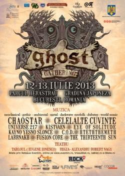 Ghost Gathering Fest 2013 la Bucureşti