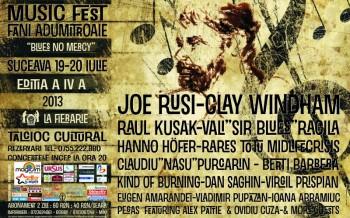 """Festivalul MusicFest """"Fani Adumitroaie"""" 2013 în La Fierărie din Suceava"""