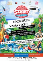 Sziget Festival 2013 Promo Party în Club Expirat din Vama-Veche