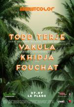 Todd Terje şi Vakula în La Plage Club din Otopeni