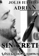 Concert Adrian Naidin – Sin-cretic la În Pod La Historia din Bucureşti