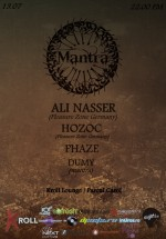 Ali Nasser, Hozoc şi Phaze în Kroll Lounge din Bucureşti