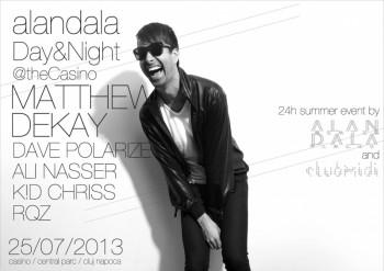 24h Summer Event cu Ali Nasser şi Matthew Dekay la Casino Parc din Cluj-Napoca
