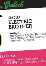 Concert Electric Brother la GuerriLIVE Acoustic Session în Energiea din Bucureşti